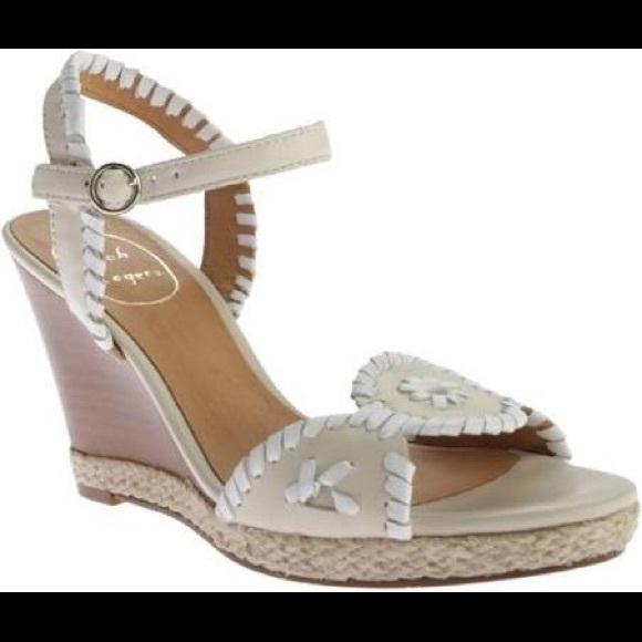 3b95bebdc0cd Jack Rogers Shoes - Jack Rogers Clare Rope Wedge Bone